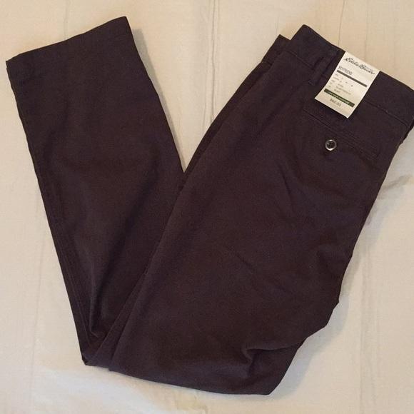 8fa956006 Eddie Bauer Pants | Womens Dark Brown | Poshmark